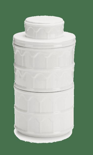 Набор из двух фарфоровых коробок для печенья