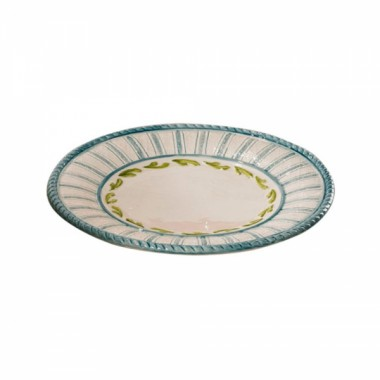 Тарелка десертная Яхта ручная роспись