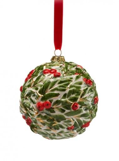Подвесной декоративный шар Омела