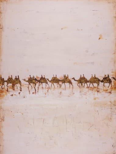 Печать с ручной росписью The Caravan