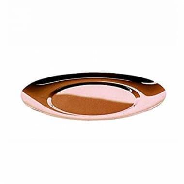 Поднос овальный с греющим/охлаждающим диском Due Bronze Mirror