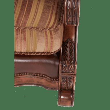 Кресло для чтения обивка Olive