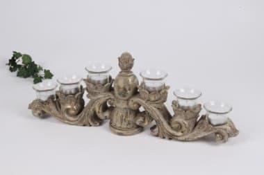 Декоративная стойка на 6 свечей