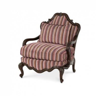 Кресло для чтения акцентное, обивка Multi