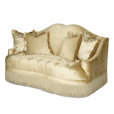 Софа Loveseat, стёганая, обивка Pearl