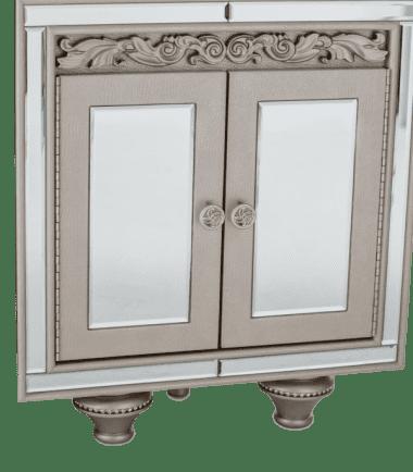 Угловая витринка для курио