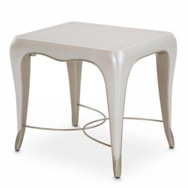 Столик приставной прямоугольный, цвет Creamy Pearl