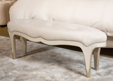 Прикроватная скамейка, Creamy Pearl