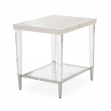 Квадратный приставной столик Pearl