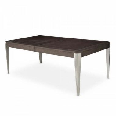 Прямоугольный обеденный стол (включая 2 вставки 61 см)