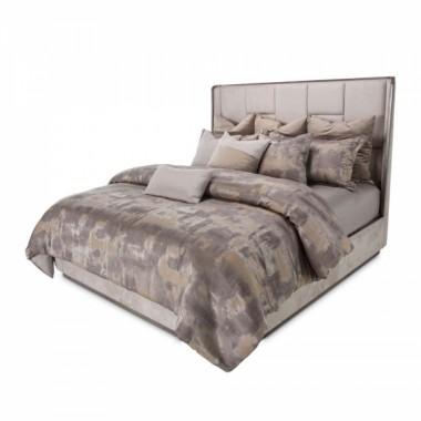 Кровать с мозаичным изголовьем, Размер Eastern King