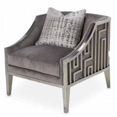 Кресло акцентное, обивка Grey Pearl
