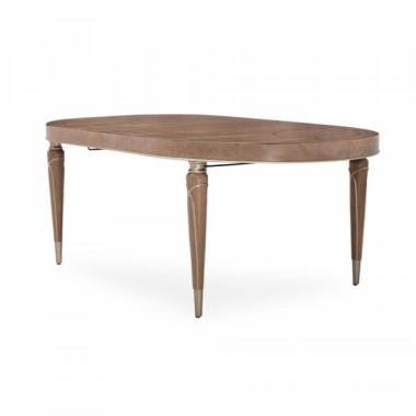 Овальный обеденный стол (включая вставки 2*56 см)