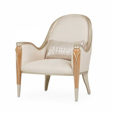Кресло акцентное, цвет Карамель, обивка PEARL