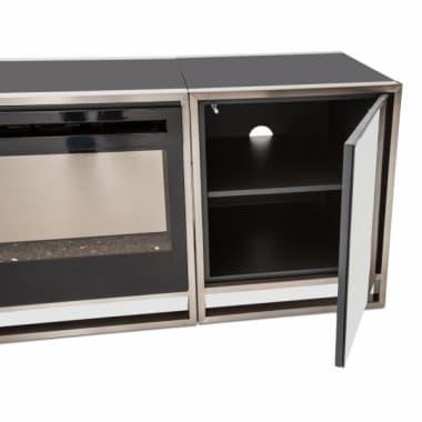 ТВ консоль/Портал с боковыми кабинетами без симулятора