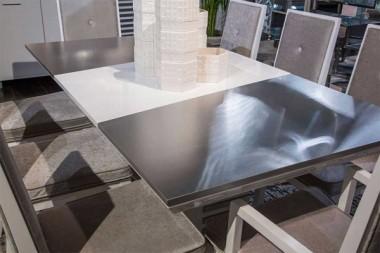 Стол обеденный прямоугольный Cloud White