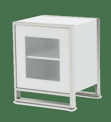 Портал для камина с боковыми тумбами