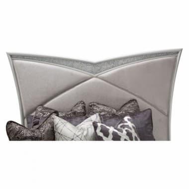 Кровать с мягким изголовьем, размер Eastern King