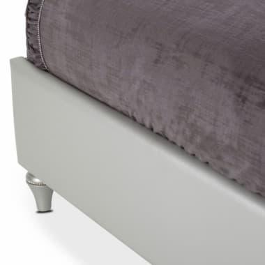 Кровать с мягким изголовьем, размер Queen