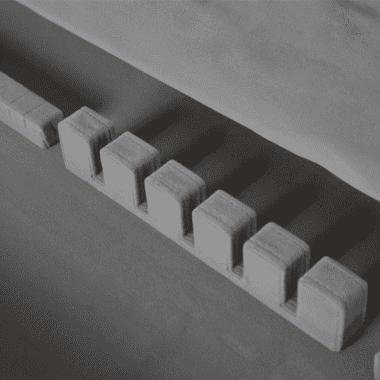 Тумба сервисная для столовой Black Ice