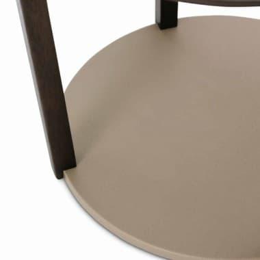Круглый столик под лампу
