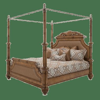 Кровать с балдахином размер Queen