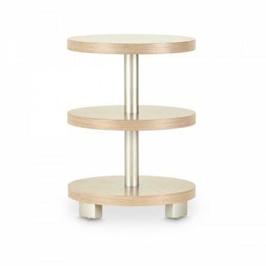 Круглый приставной столик, Washed Oak