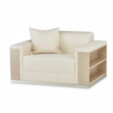 Кресло для чтения обивка CHPGN Washed Oak