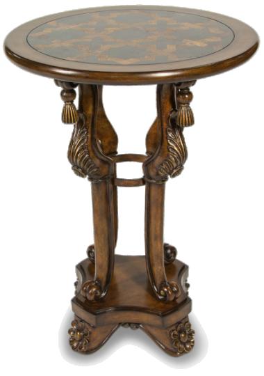Декоративный столик с инкрустацией