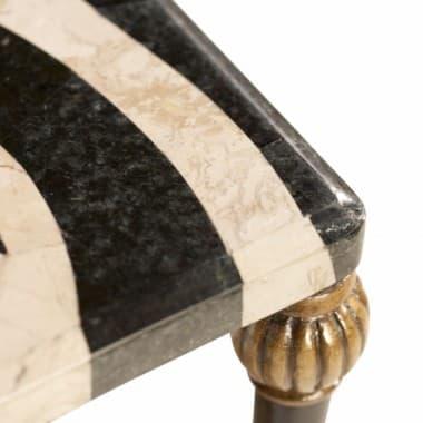 Декоративный столик Зебра