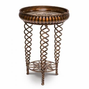 Декоративный столик Панама, витые ножки