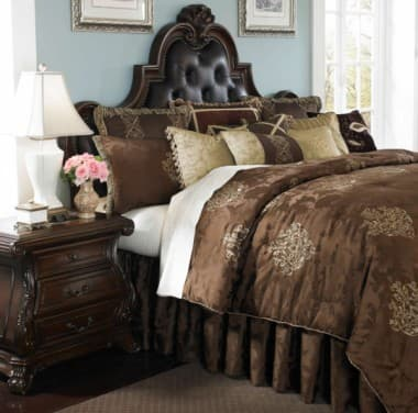 """Highgate Manor"", Декоративное покрывало и подушки (King)"