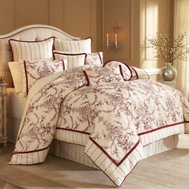 """Hidden Glen"",  Декоративное покрывало и подушки (Queen)"
