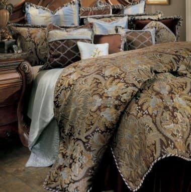"""""""Portofino"""", Декоративное покрывало и подушки (Queen)"""