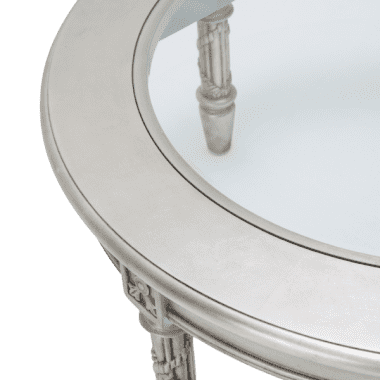 Стол журнальный круглый Giselle Platinum