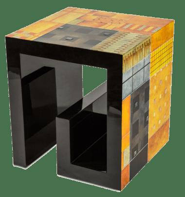 Квадратный приставной столик