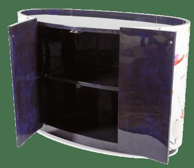 Овальный комод с торцевыми дверцами, Кристиан Лакруа