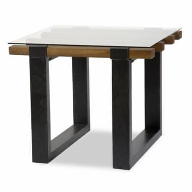 Стол приставной прямоугольный Diversey, стеклянный верх