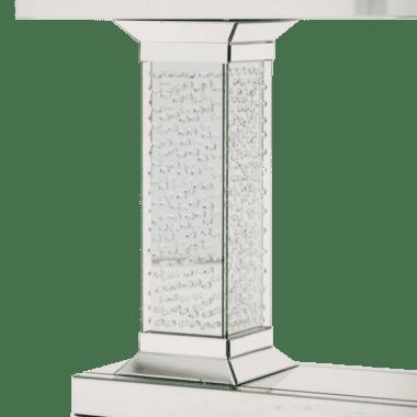 Зеркальная Консоль  с хрустальной отделкой