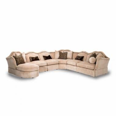 6 секционный угловой диван Toledo