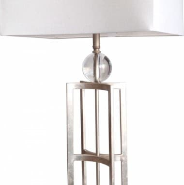 Лампа настольная Silver Leaf 60W