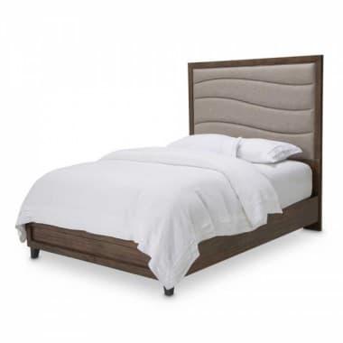 Кровать с мягкой панелью размер Cal King