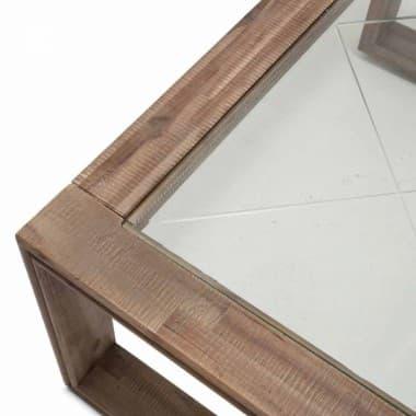 Квадратный журнальный  столик
