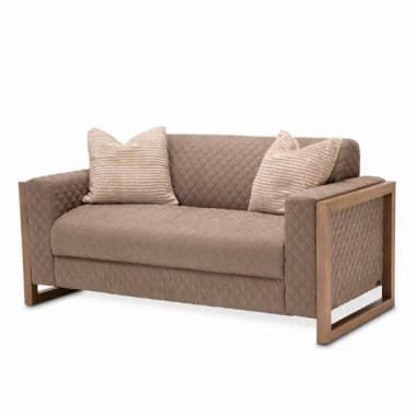Софа Loveseat, Acacia обивка Brown