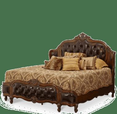 Кровать  Размер East King кожа