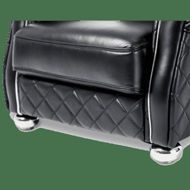 Lugano кресло Smooth_Black