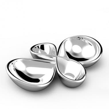 Набор из 2 двухсекционных блюд Infinity,  дизайн Wey Young
