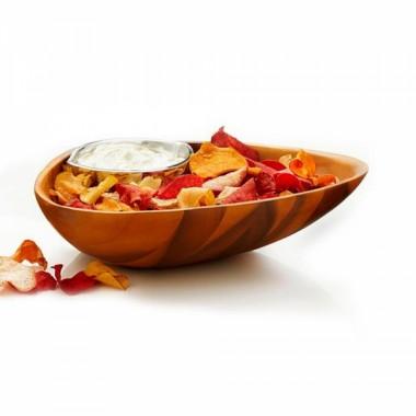 Блюдо для закусок Clam Chip&Dip