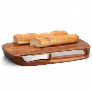 Деревянная доска для хлеба Harmony с ножом,  дизайн Neil Cohen