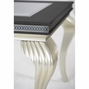 Обеденный стол со стеклянными вставками Caviar